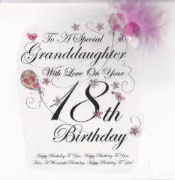 Granddaughter Birthday Quotes 18th Birthday Quotes For Granddaughter Quotesgram