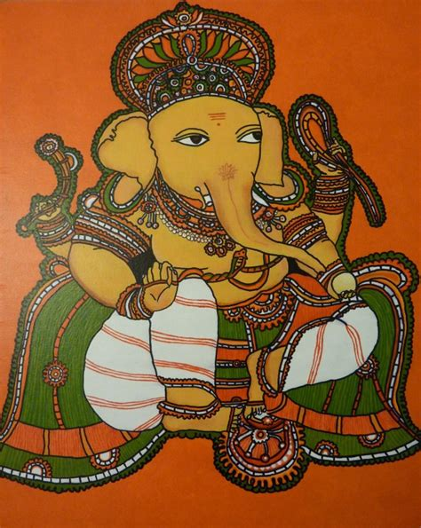 Mural Designs Outline by 1 2 Baby Steps In Kerala Mural Painting Whats Ur Home Story
