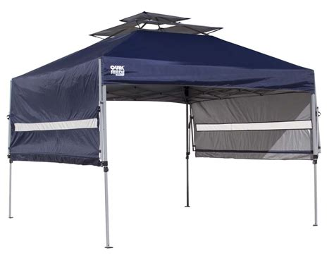 Canopy With Awning by Quik Shade Summit S170 10 X 10 Instant Canopy Tent
