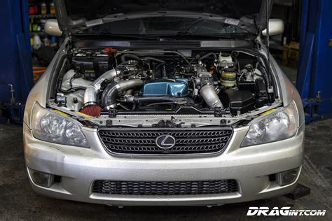 lexus is 300 turbo lexus is300 2jzgte vvti twin turbo automatic swap drag
