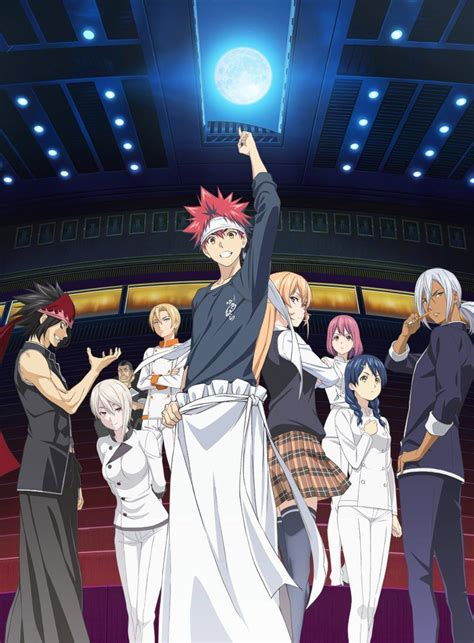 Komik Shokugeki No Souma Food Wars Vol 13 shokugeki no souma season 2 listed at 13 episodes otaku tale