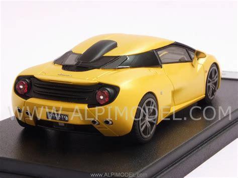 looksmart Lamborghini 5 95 Zagato (Midas Yellow Matt) (1