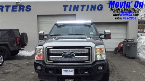 strobe lights for ford f250 ford f 250 cree led light bar and led strobes