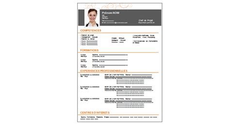 Cv Exemple Word 2016 by Cv Modele 2016 Modele Cv Commercial Word Jaoloron