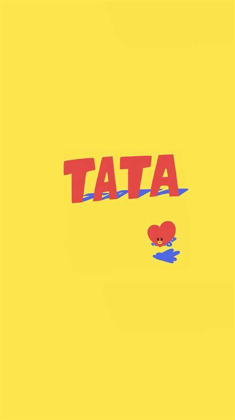 kim taehyung bt21 bts v wallpaper linesticker tata kim taehyung bt21