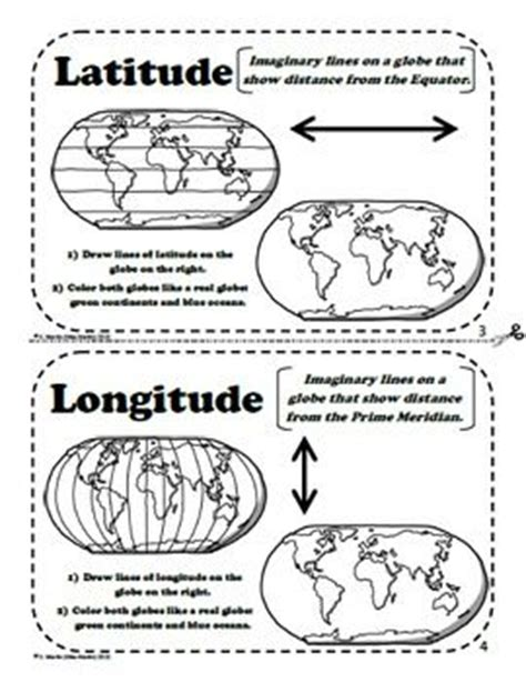 printable latitude longitude ruler 98 best images about teaching map skills landforms on