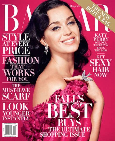 In Harpers Bazaar by Katy Perry S Bazaar Magazine October 2014 Issue