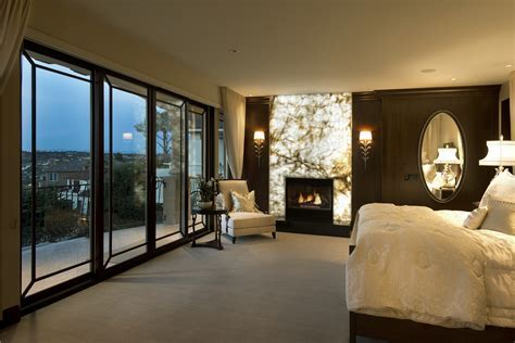 La Jolla Luxury Master Bedroom Robeson Design   San Diego Interior Designers