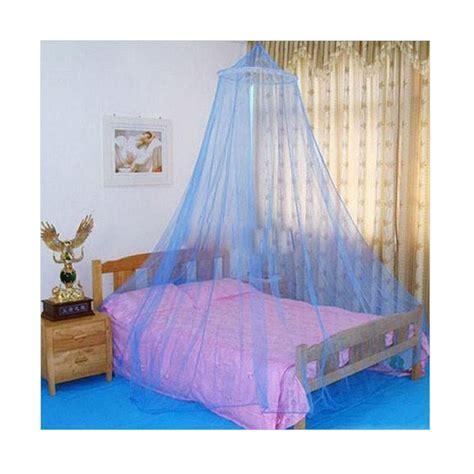 Kelambu Tempat Tidur Dewasa Portable Mosquito Net For Bed 150 X 200 jual aiueo canopy mosquito net kelambu anti nyamuk biru