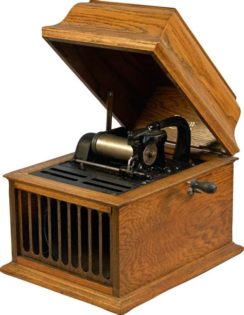 edison amberola home phonograph cylinder player lot 1088
