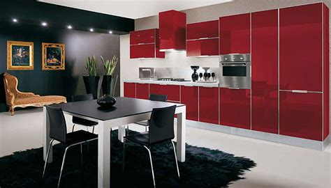 sleek kitchen ultra glossy and sleek kitchen design crystallo from