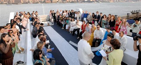 Wedding Ceremony On A Boat by Weddings On The Royal Princess Yacht Ny Boat Charter