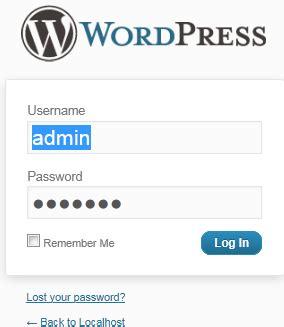 membuat website dengan wordpress di localhost cara membuat instalasi blog wordpress di localhost