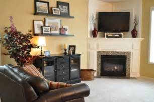 Decorating Ideas For Living Room With Corner Fireplace How To And How Not To Decorate A Corner Fireplace Mantel