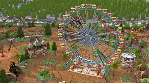 roller coaster world rollercoaster tycoon world reveal trailer