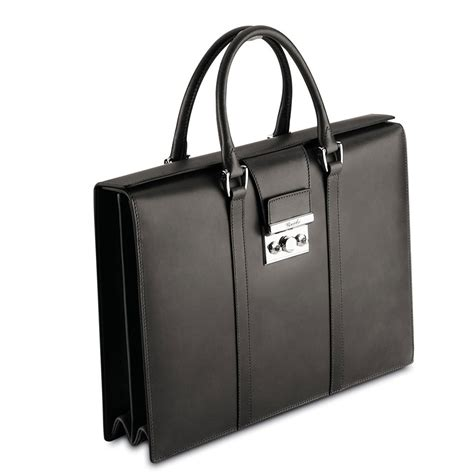 Ambrose Umbrella pineider power elegance s briefcase black leather