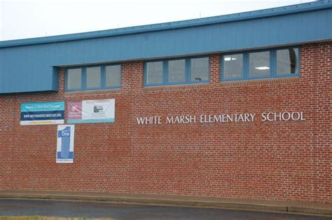 White Marsh Elementary first grader suspended for using