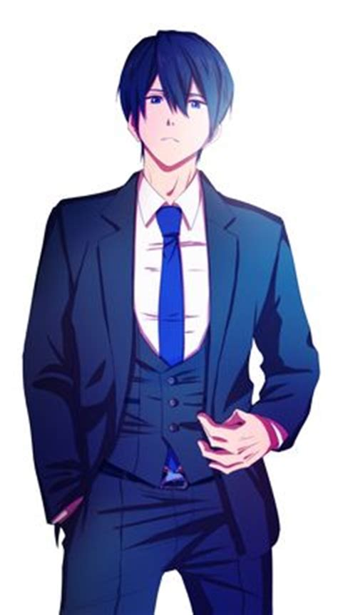 Draw It On Pinterest Anime Girls Anime Art And Anime Guys Anime Boy In Suit Drawing Free