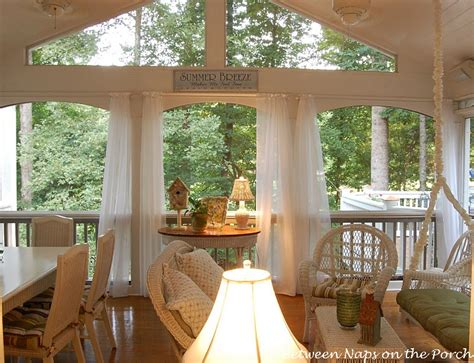 screened in porch curtains add curtains or sheers to a porch
