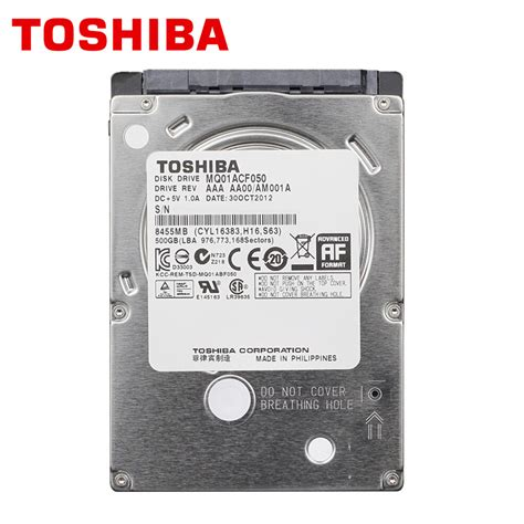 Promo Hardisk Notebook 500gb Toshiba toshiba laptop drive disk 500gb 500g original notebook hdd hd 2 5 quot 7200 rpm 16m