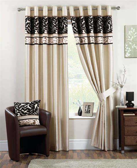 black cream curtains coniston eyelet lined curtains black free uk delivery