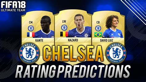 chelsea fifa 18 fifa 18 chelsea player ratings predictions ft kante