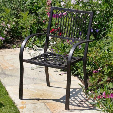 Gardening Chair Stacking Metal Garden Chair