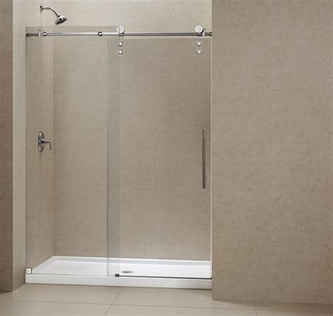 48 Sliding Shower Door Dreamline Enigma Z 44 Quot 48 Quot Sliding Shower Door Shdr 6248760 Modern Shower Doors New York
