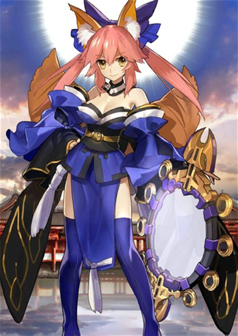 psp fate extra tamamo no mae servant caster psp anime and fate grand order casters characters tv tropes