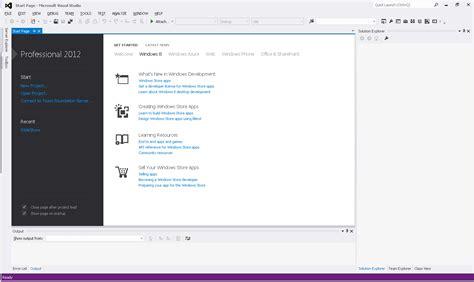 tutorial visual basic 2012 welcome to visual basic tutorial visual studio 2012 ide
