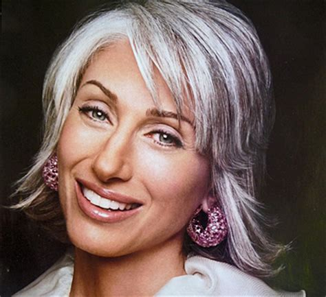 will silver hair with lowlights make me look what lowlights look best on all gray hair dark brown hairs