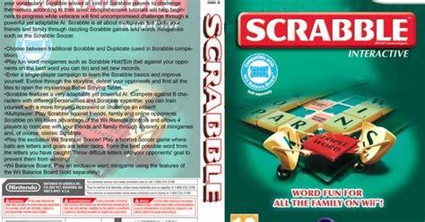 scrabble interactive wii nintendo wbfs scrabble interactive rvhp41 wbfs