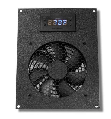 home theater fans deluxe cg cabcool1201 unit for cabinet home