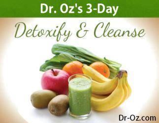 Dr Oz Detox Diet Today Show by The World S Catalog Of Ideas