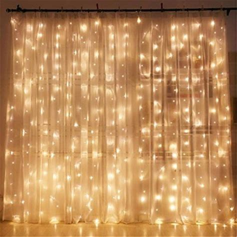 wall curtains for parties twinkle star 300 led window curtain string light for