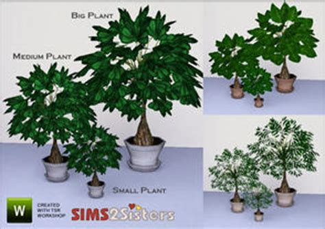 empire sims 3 3 small potted plants by lisen801 downloads sims 3 object styles furnishing dcor
