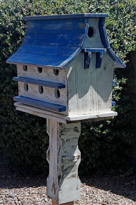 Purple Martin House by Purple Martin House Large Birdhouse Functional Birdhouse