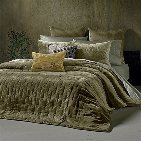 green velvet comforter kevin o brien cirrus olive green queen full coverlet quilt