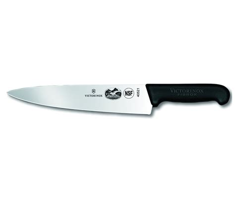chef kitchen knives victorinox 47521 fibrox 10 quot chef s knife 23 78