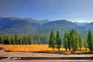 yellowstone landscape beautiful landscape from yellowstone national park