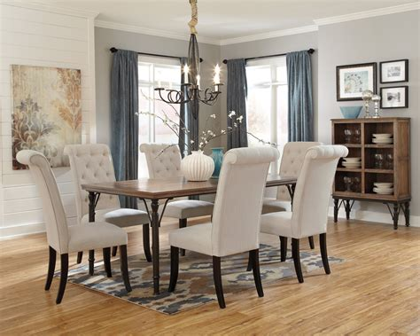 Buy Tripton Rectangular Dining Room Table By Signature Pictures Of Dining Room Furniture