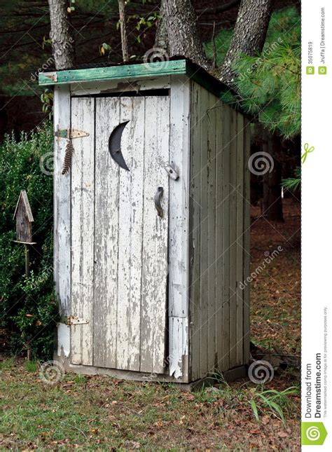 Outhouse Bathroom Ideas rural outhouse stock image image of moon building shack
