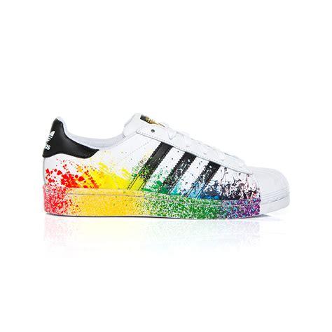 Adidas Rainbow adidas superstar rainbow shoes home bazar