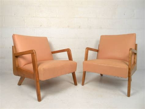 Mid Century Modern Armchairs by Mid Century Modern Sculpted Armchairs For Sale At 1stdibs