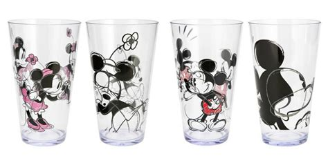 Disneyset Minnie Glasses B 080563 New Disney Tableware At Target For Fans Of All Ages