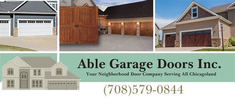 Able Garage Door by Able Garage Doors Inc Home Palos Il