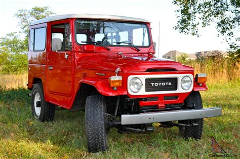 Toyota Land Cruiser Factory 1983 Toyota Land Cruiser Fj40 Factory Ps And A C