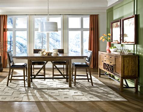 informal dining room santa clara casual dining room group by intercon wolf