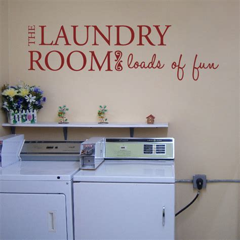 Laundry Room Decals by The Laundry Room Quotes Wall Decals