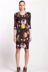 Opulence Bedding Kokon To Zai Space Print Bodycon Dress Celebrities Who